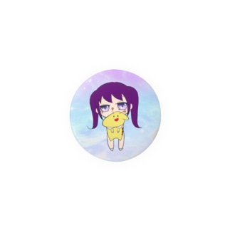 幼女A×きりんちゃん 缶バッチ② Badges