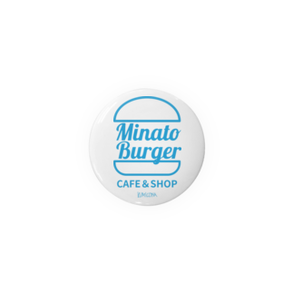 kumiconaShopのMinatoBurgerグッズ(ブルー) Badges