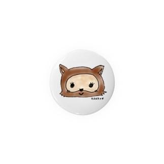 【ぶんちゃが】ゆかりのたぬきちゃん Badges