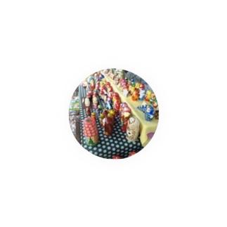 マトリョシカ Badges