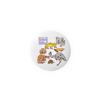 オーストラリアアニマル(500円募金) Badges