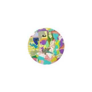 POP GIRL #9 Badges