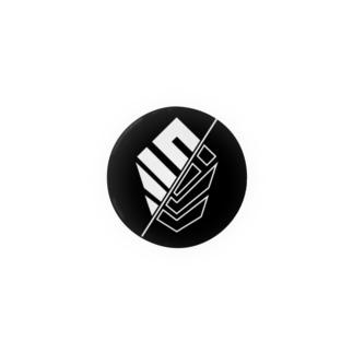 𝙎 𝙇 𝙋 ☻のSLP/【ブラック/ホワイトロゴ】 Badges