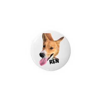 紀州犬REN Badges