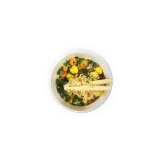カップ入り麺(リフト) Tin Badge