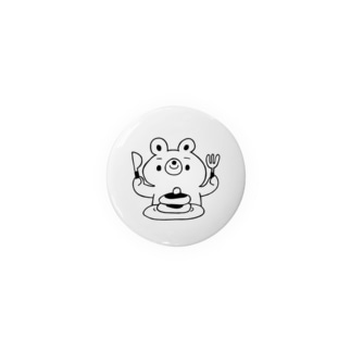 クマとパンケーキ(クロ) Badges