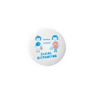 Social Distancing Badges