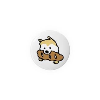 パンをくわえた犬① Badges