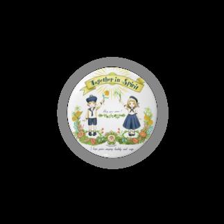 LoopmarkのTogether in Spirit     コロナ医療チャリティーグッズ   Badges