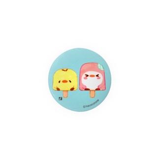 ことりのひんやりアイスキャンディー Badges