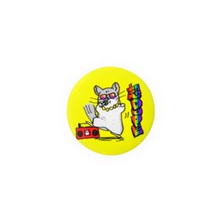 チンチラッパー缶バッジ Badges