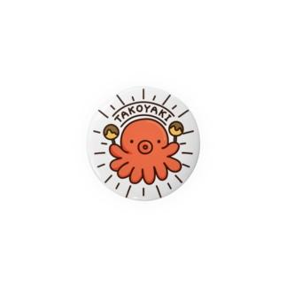 らくがきシリーズ‐たこ焼きマニア Badges
