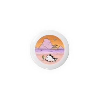 捨て子サウルス「なつやすみ」 サンセットver. Badges