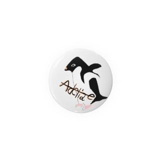 アデリーペンギン Badges