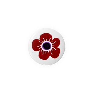 ManaOsawaのアネモネ北欧デザイン Badges