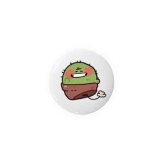 ニッコリサボテン 缶バッジ Badges