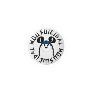 MOUSUICIDAL (ITEM2) Badges