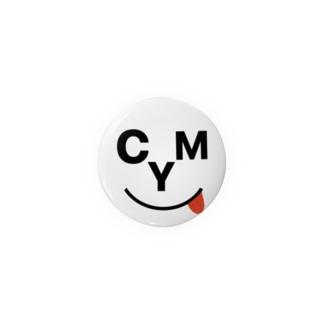 CYM 缶バッチ Badges