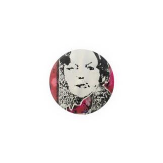 portrait woman 缶バッジ