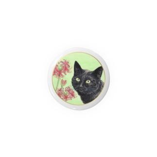 猫と彼岸花 Badges
