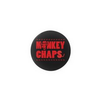 MONKEY CHAPS ロゴ Badges