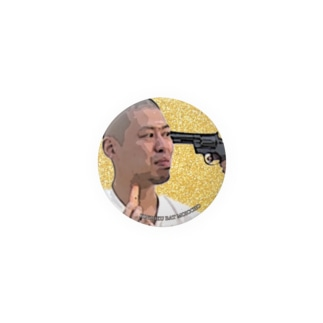 No.7 拳銃を突き付けられる小林 Badges