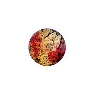 Magical flower Badges