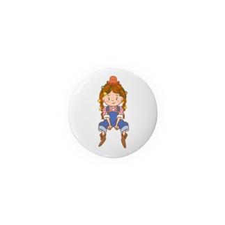 ナポリタンちゃん Tin Badge