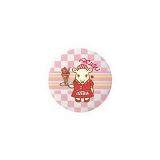 Waitress   ARIKUI Badges