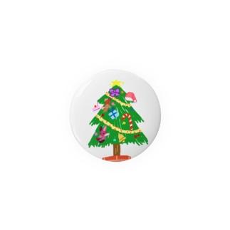 クリスマスツリー Badges
