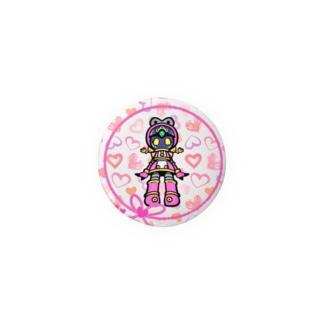 公式絵モモ_03 Badges