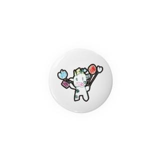 次女牛のイラスト Badges