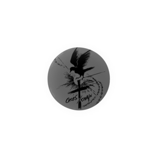 CROSS×CHAIN(第一期ロゴ) Badges
