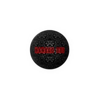 土井七郎ロゴ44mm Badges