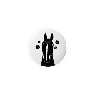 モノクロな馬 Badges