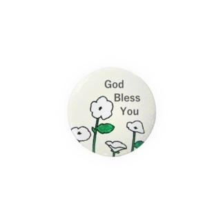 God Bless You(はな) Badges