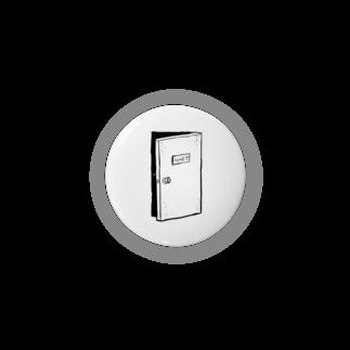 ストロウイカグッズ部の心のドア缶バッジ