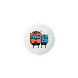 電車1 Tin Badge