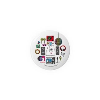 ミュージックなハグキマル Badges