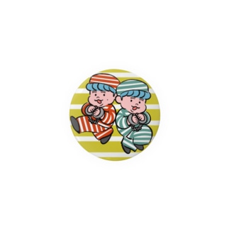 缶バッジ 模範囚ザ・たっちVer. Badges