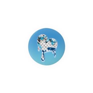 ぐんじさんの。のmelting heart, summer - 01 Badge