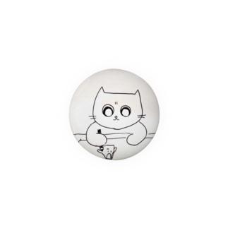 しんけんに描くネコ Badges