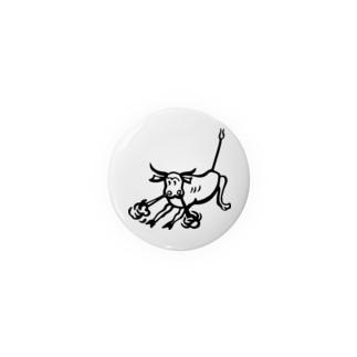 荒ぶる雄牛(Snorting Bull) Badges