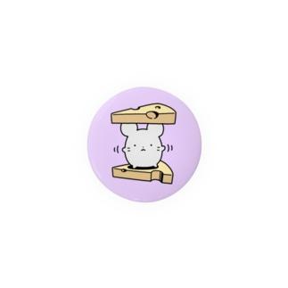 ねずみ(踊り) Badge