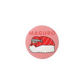 NINJA SUSHI - MAGURO Badges
