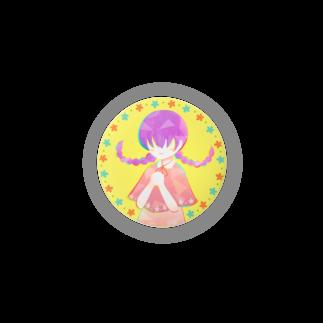 ひじりやノエルの「Flower」44mm【ほんわかちゃん】 Badges