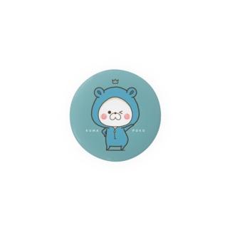 くまぽこ(ブルーグリーン?) Badges