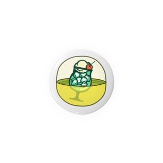 クリームソーダ 44mm Badges