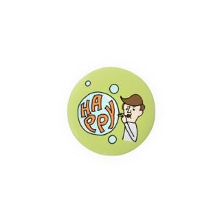 HAPPYトオルさん44mm Badges