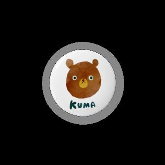 ちばしげのかっこいいKUMA 缶バッジ